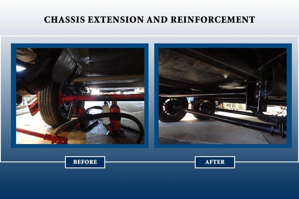 caravan chassis modification melbourne