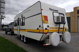 caravan axle reinforcement